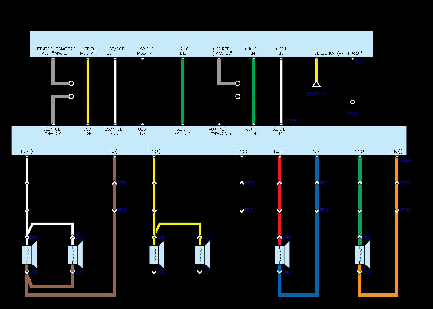 Электрическая схема хендай солярис фото 892