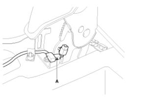 Снятие стояночного тормоза (ручника)