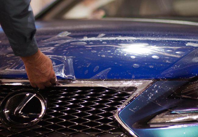 Работы по установке всех видов автомобильных плёнок