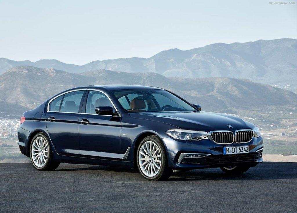 Записывайтесь на тест-драйв BMW 5 Series